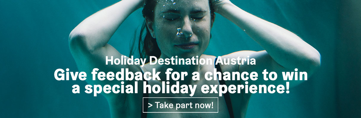 Give feedback for a chance to win a special holiday experience!